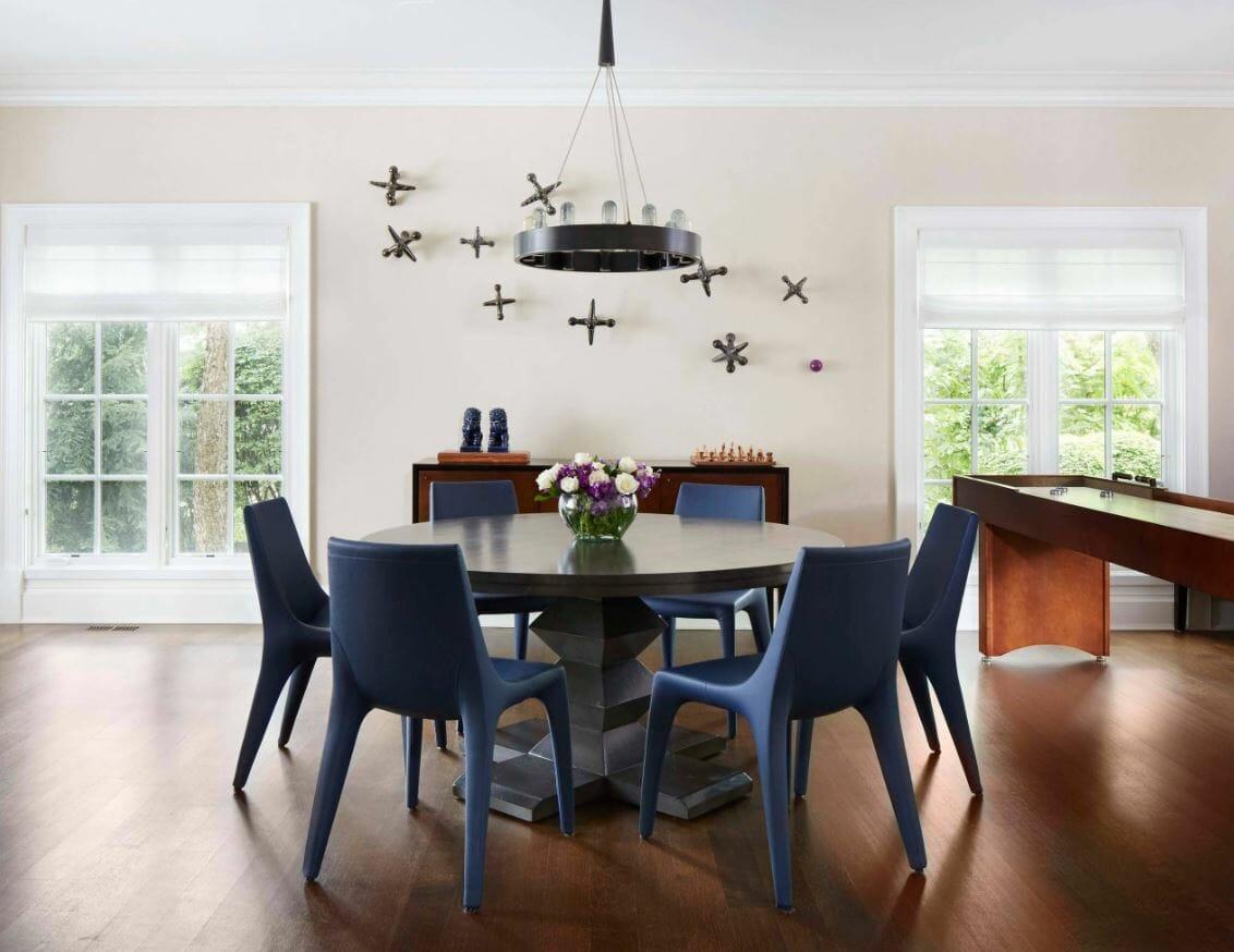 affordable interior design minimal dining room