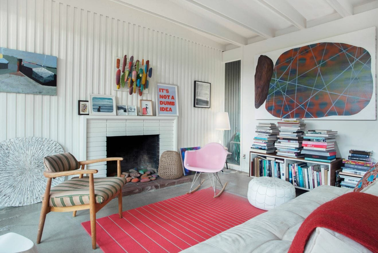 eclectic living room affordable interior design indeas