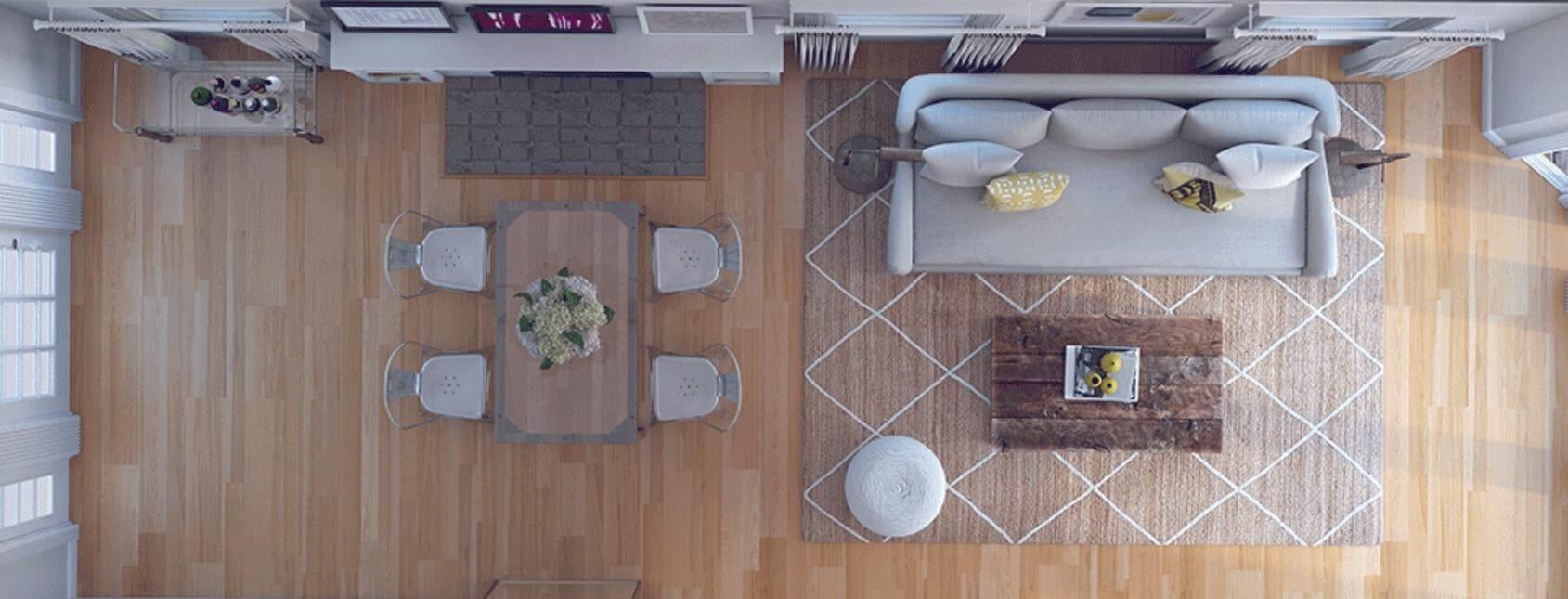 decorilla vs modsy - 3d floor plan