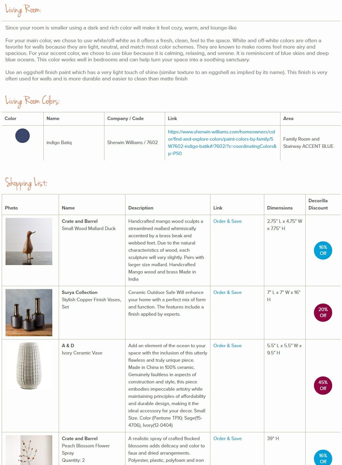 decorilla vs modsy comparison shopping list 5