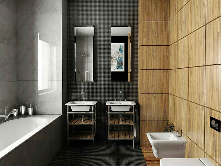 moody bathroom design decorilla designer alicja s