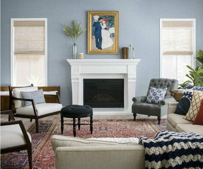 fireplace decor corine m