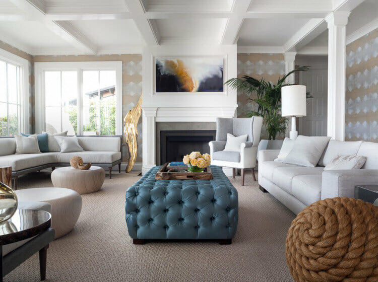fireplace decor for summer