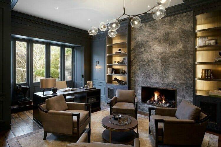 winter fireplace decor ilaria c