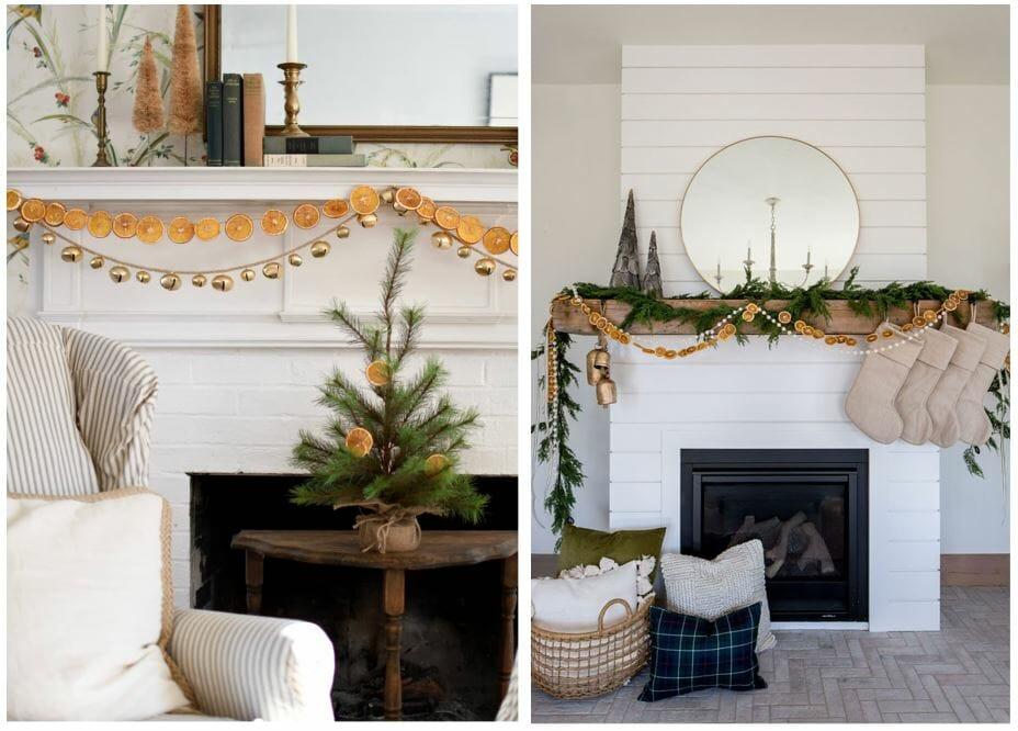 christmas decor trends citrus garland