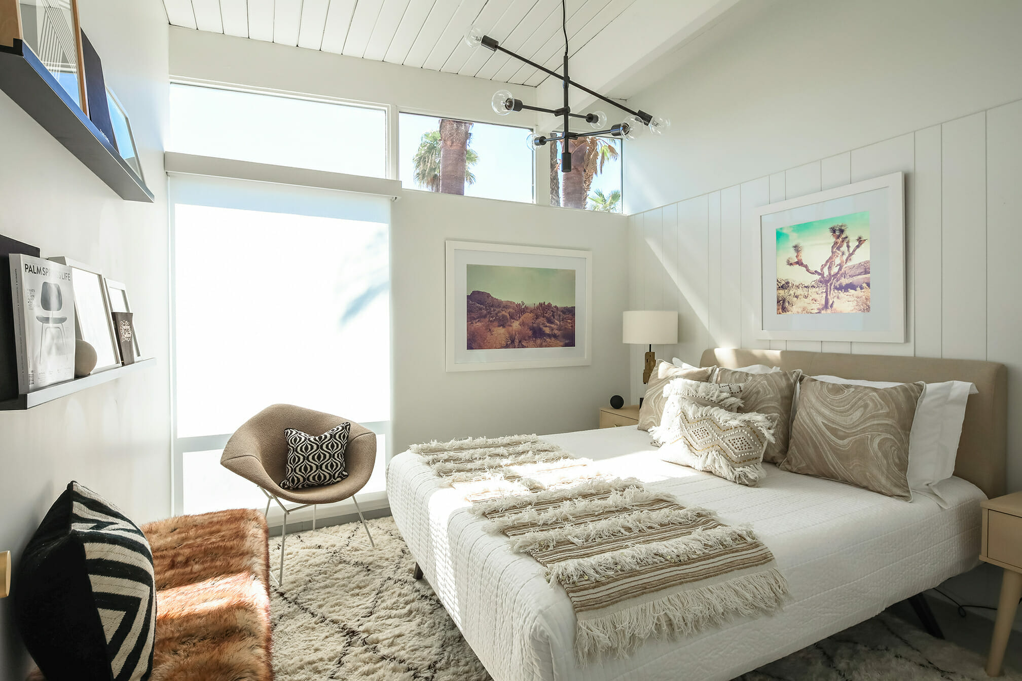 boho inspired bedroom design