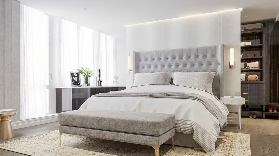 studio apartment layout ideas for bedroom decorilla rendering