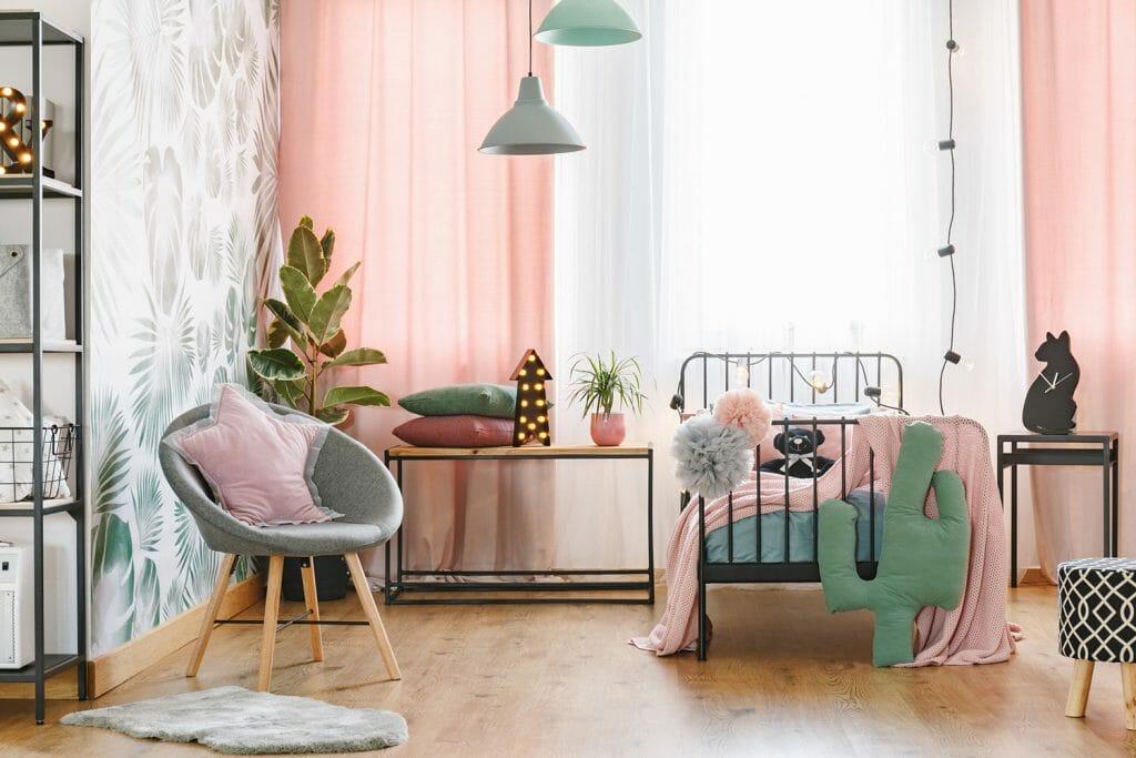 girls bedroom interior design