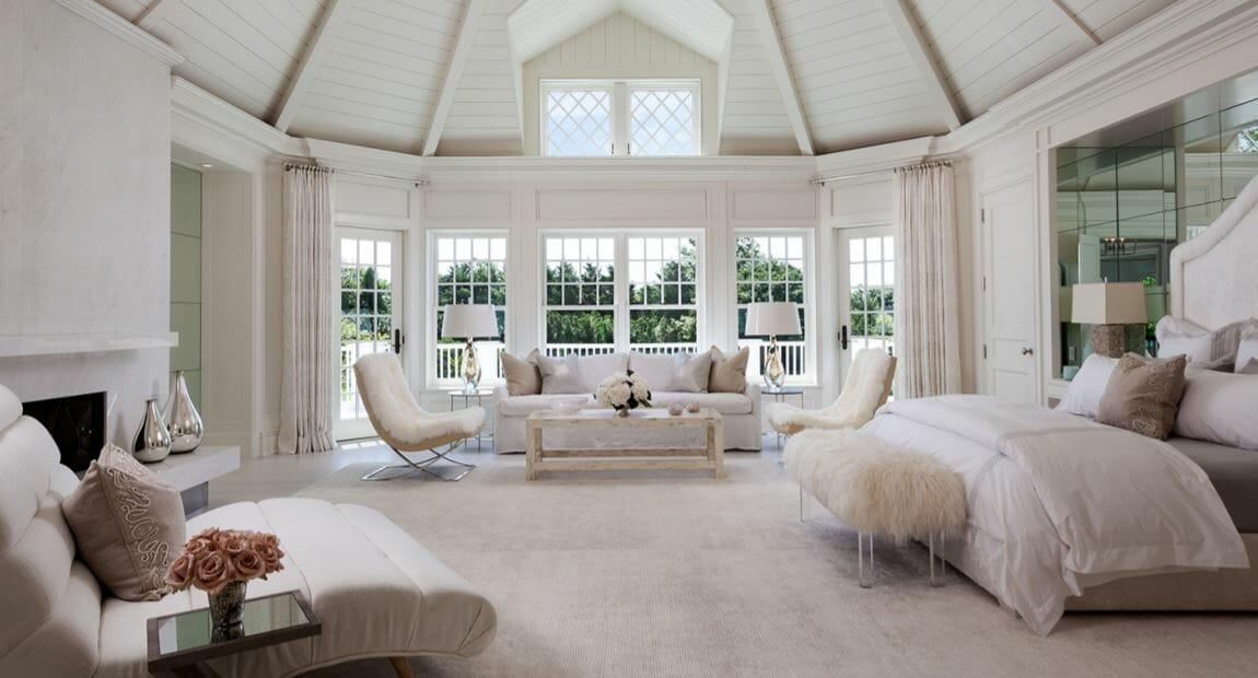 Luxury master bedroom design by Decorilla designer Tammy M