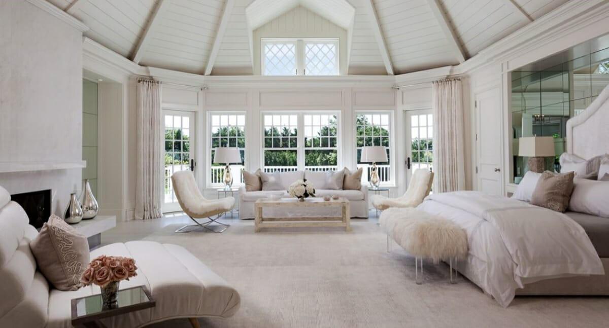 Bedroom by top Jacksonville interior designers and Decorilla designer, Tammy M