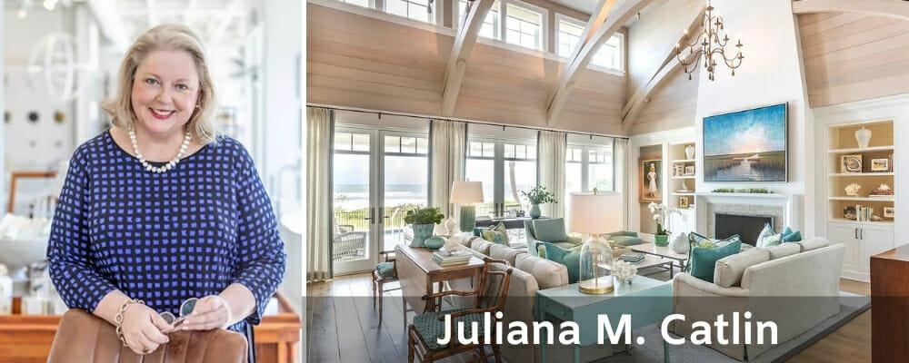 Top Jacksonville interior designers Juliana M. Catlin