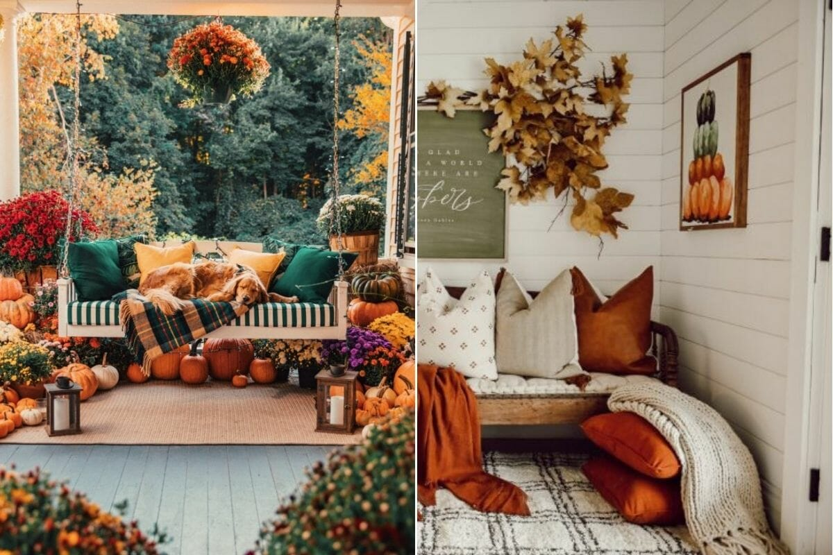 Traditional Thanksgiving colors for a festive home
