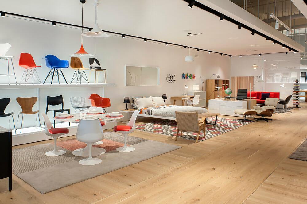 NHC furniture store - design within reach