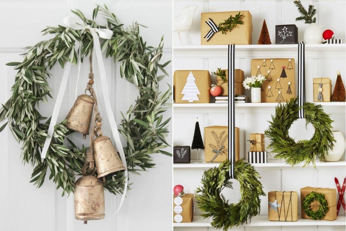Christmas decorating ideas for wreaths