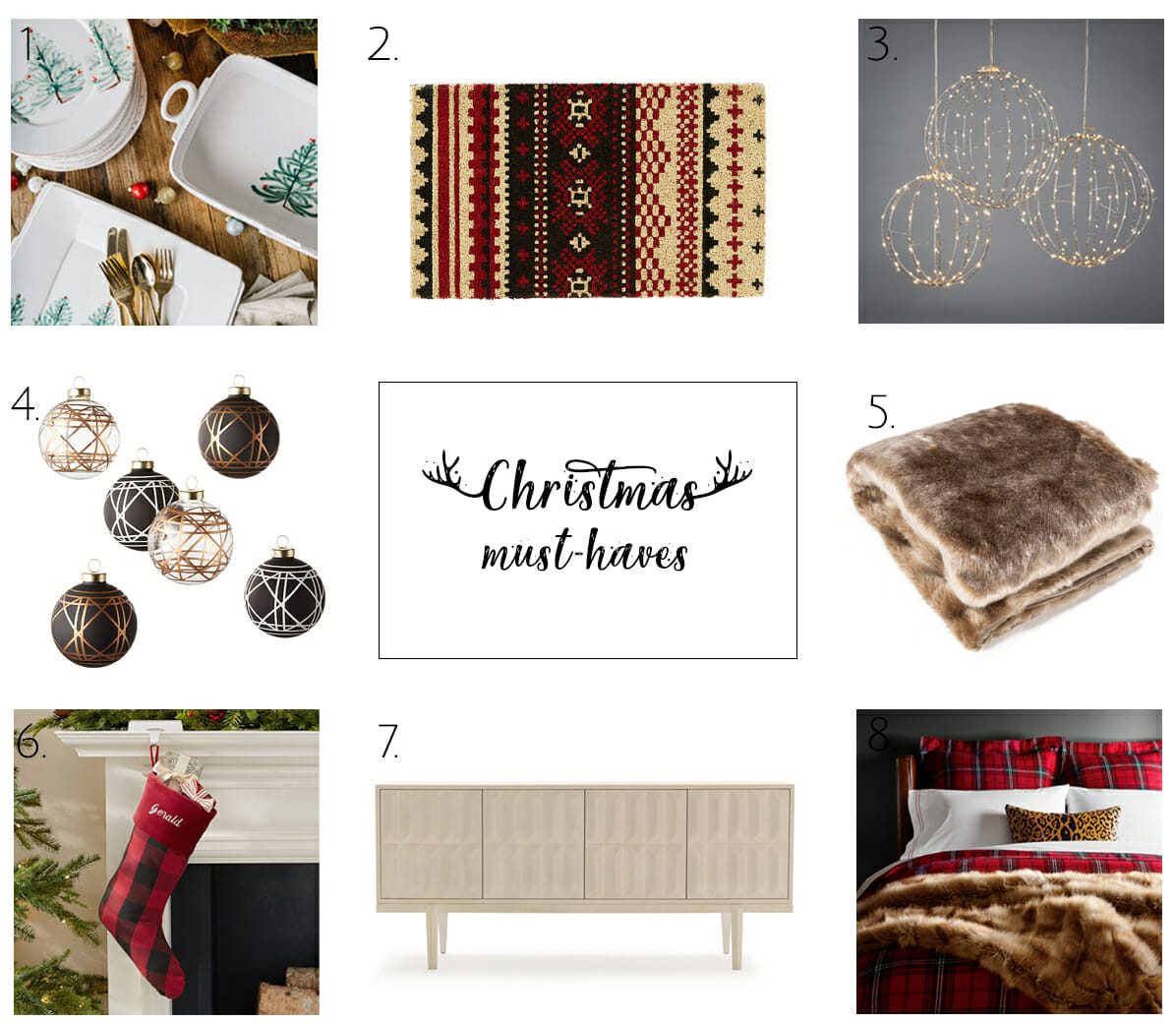 How to decorate for Christmas - Christmas decorating ideas