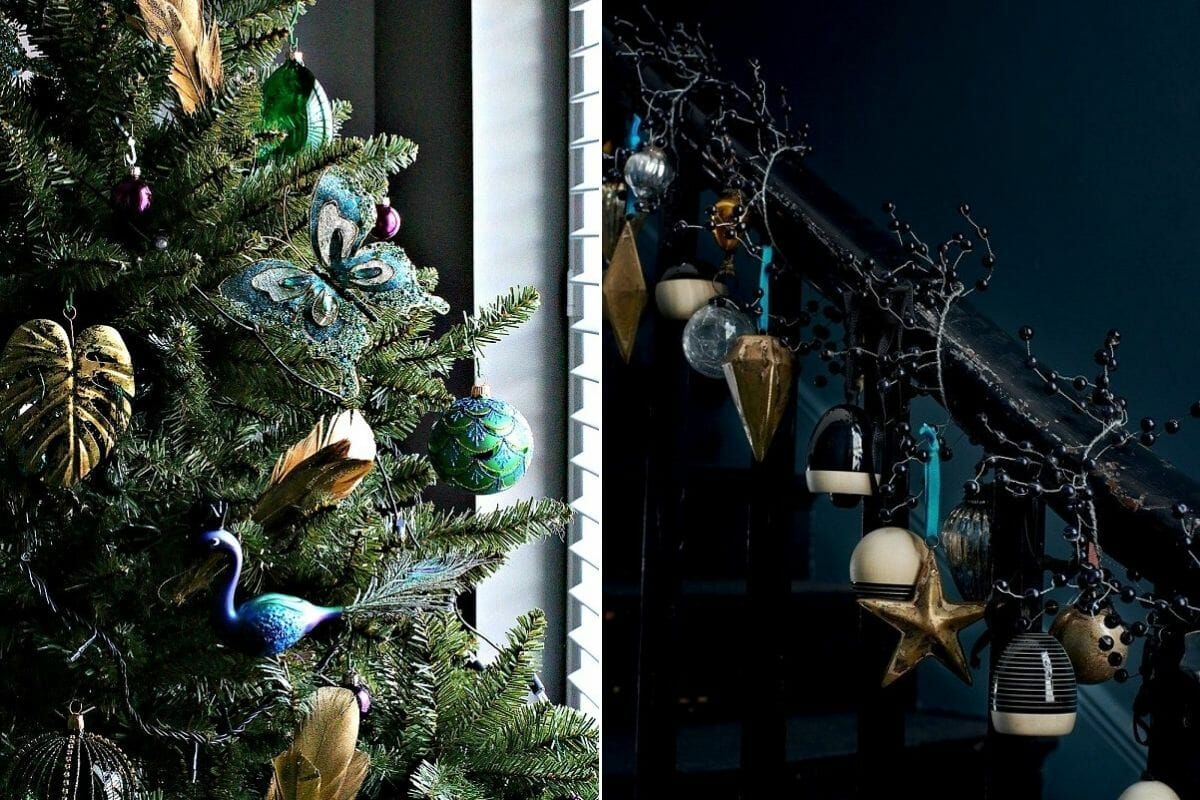 How to decorate for Christmas with elegant ornaments