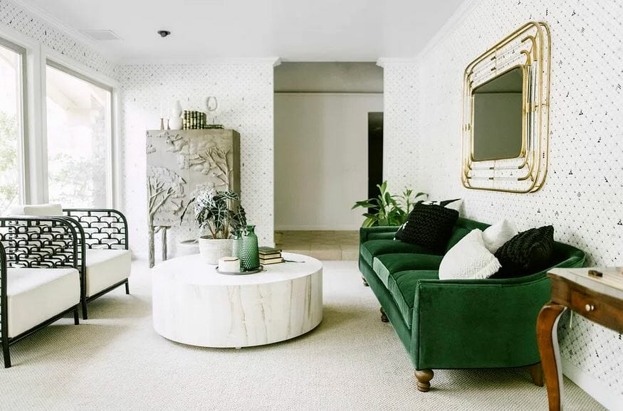 top fresno interior designer living room erin