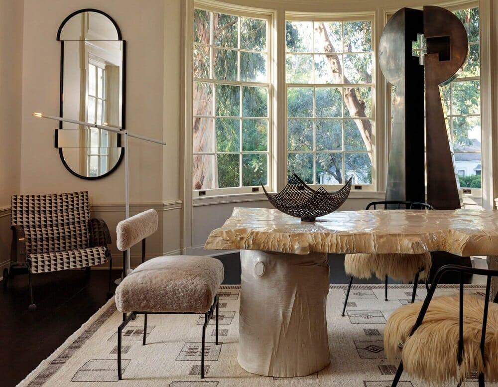 Kassondra Leigh's inspiration - Haute bohemian dining room