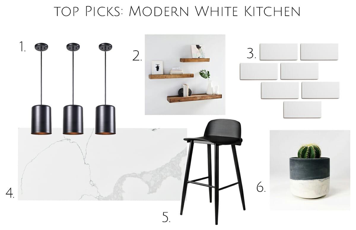 Modern white kitchen design top ideas