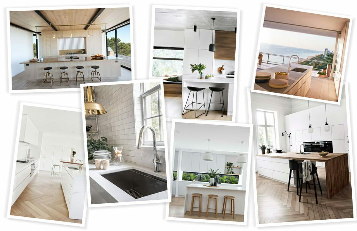 Modern white kitchen ideas for redesign inspiration