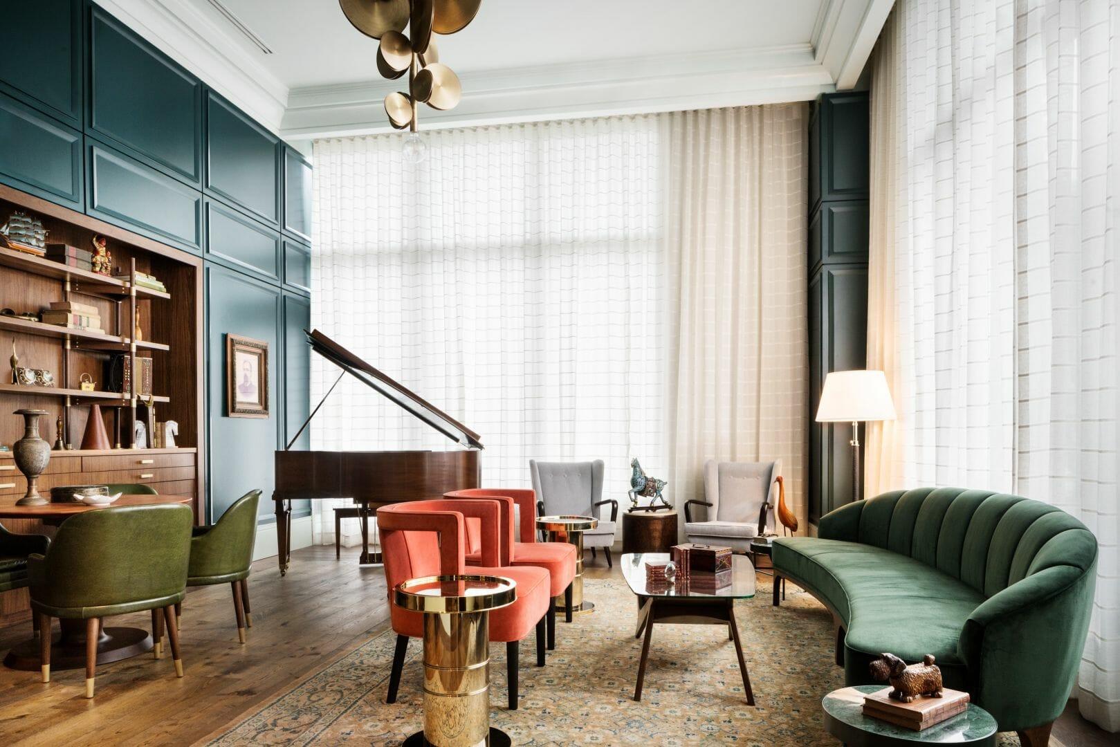Best savannah interior designers - Perry Lane Hotel