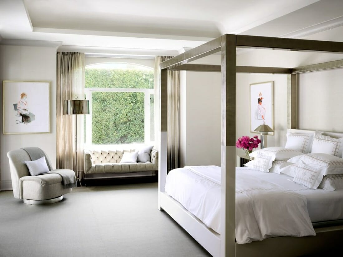 Luxury master bed ideas