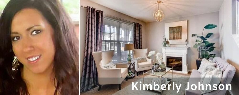 Sophisticated lounge by one of the top Columbus interior designers Kimberly J