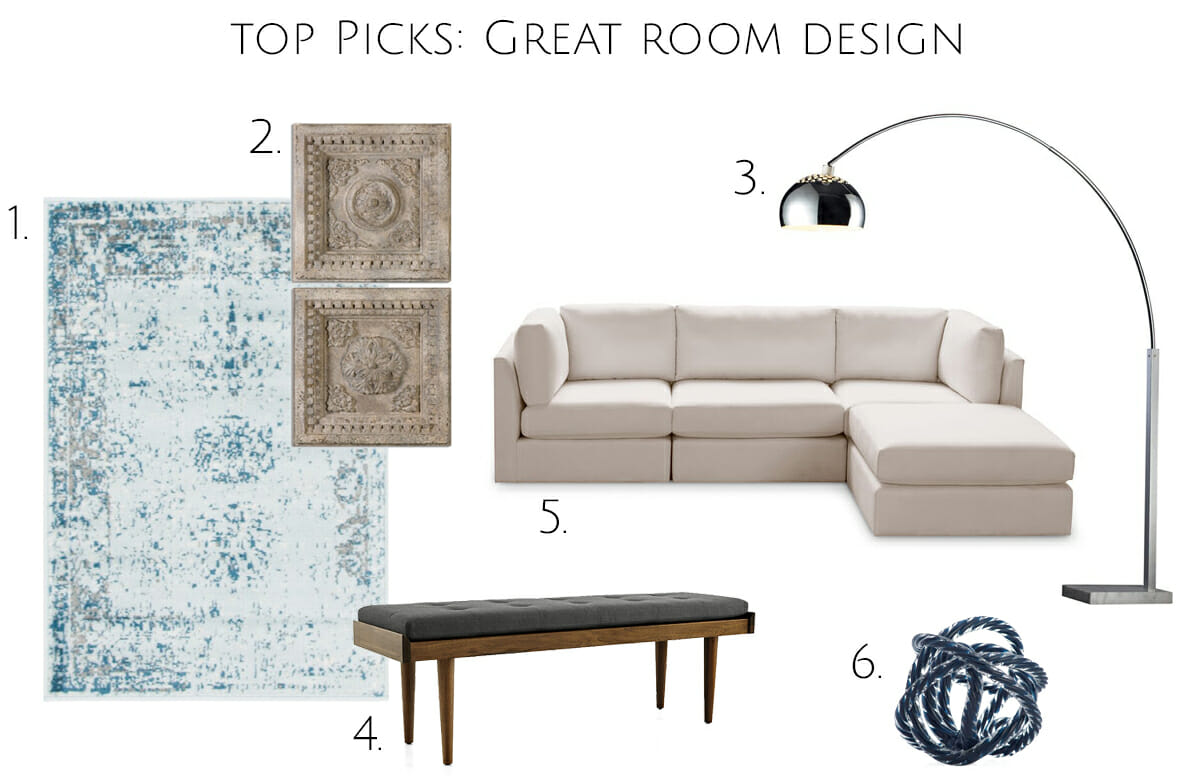 Top picks for great room ideas