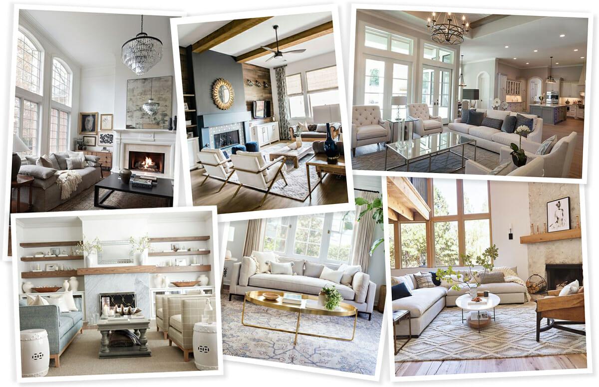 Transition great room design inspiration