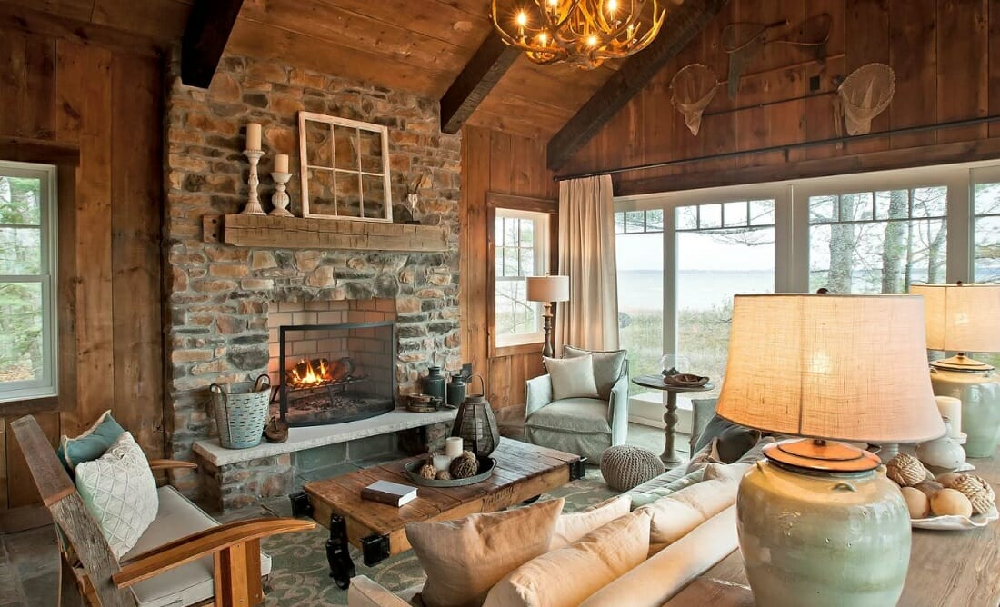 Transitional living room by a houzz interior designer Columbus Ohio, Kim Pheiffer