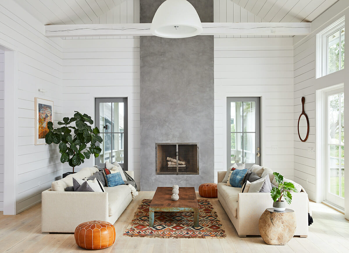 Cozy modern farmhouse furniture