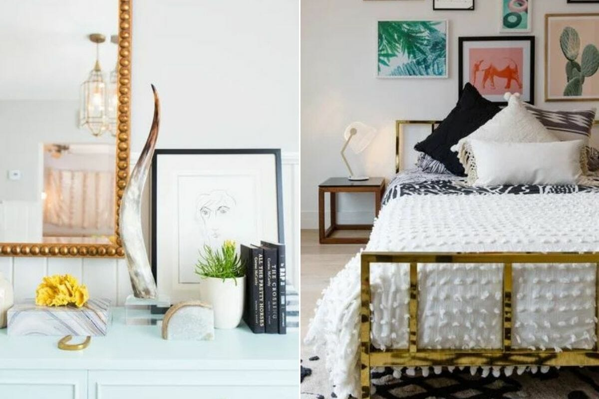 Eclectic wall and bedroom decor - Sarah S