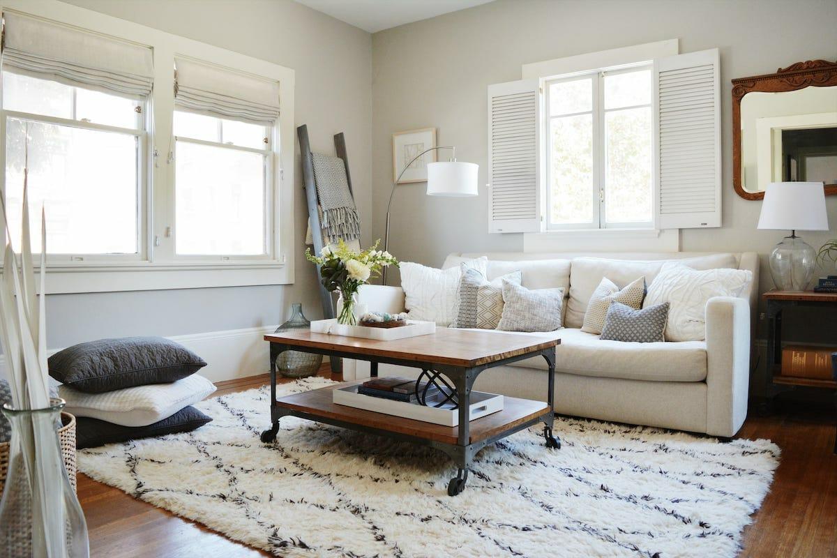 Modern Farmhouse Decor Ideas for the living room by angela s