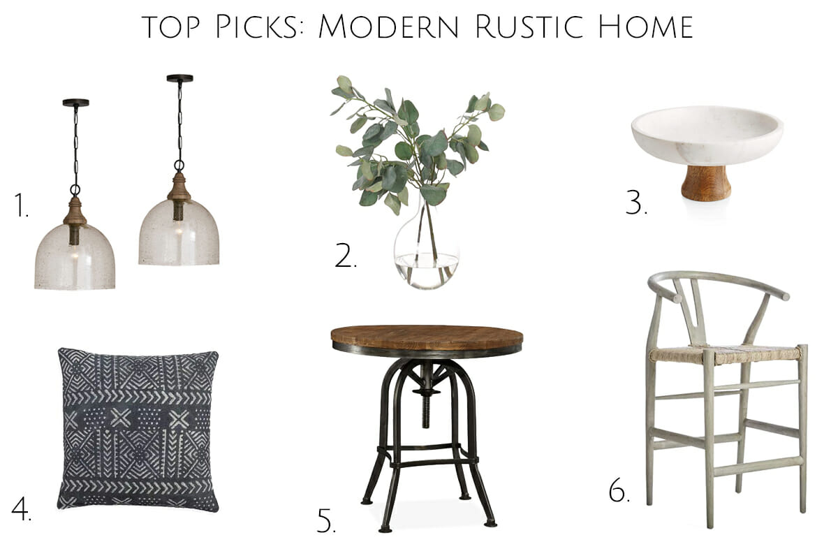 modern rustic interior decor top picks