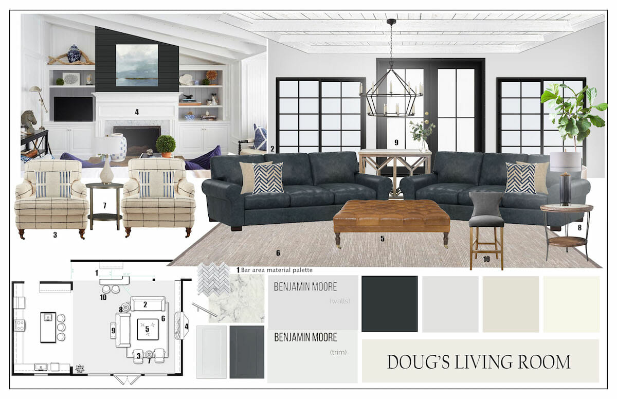 mood-board-for-a-modern-rustic-living-room-interior