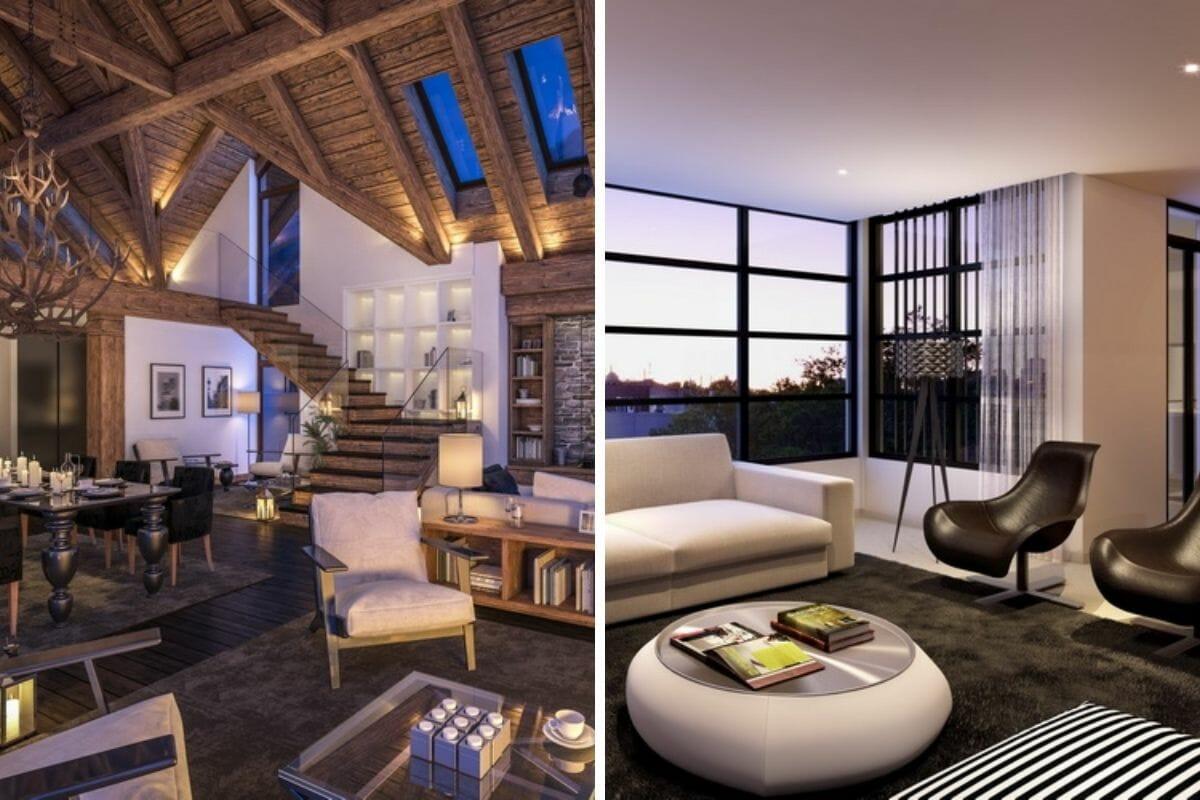 sitting room samples from top fresno interior designers - edinhart group