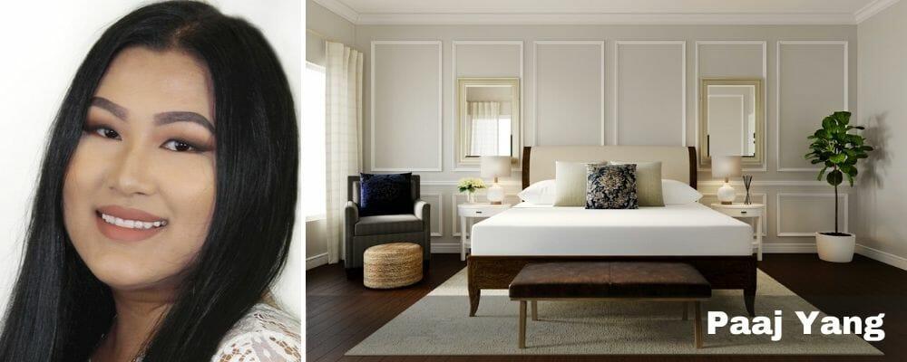 transitional bedroom interior design fresno by paaj yang