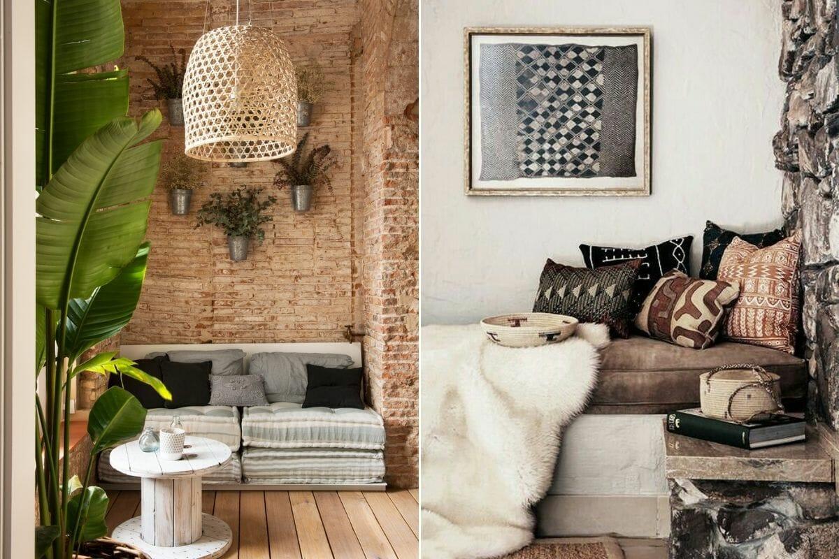 rustic interior elements