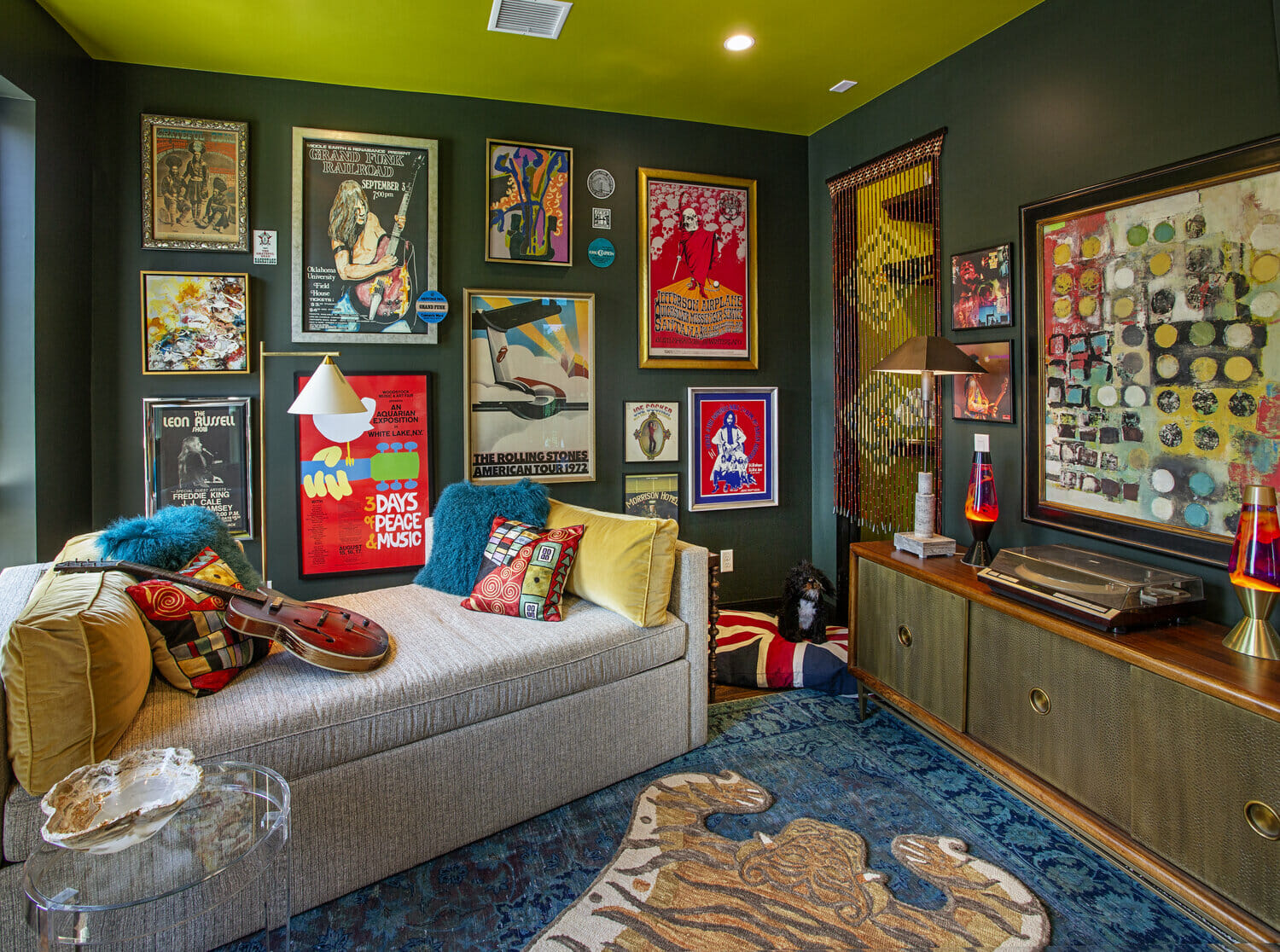 Eclectic home by one of the top Oklahoma city interior designers, Katelynn Henry