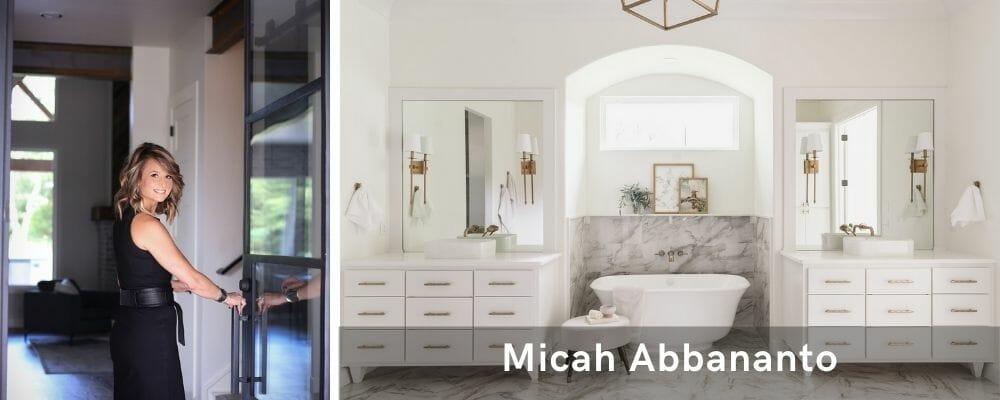 find an interior designer near me - michah abbananto