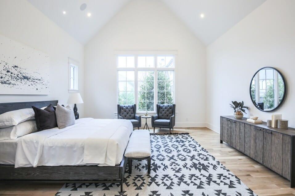 Bedroom by interior designer in Nashville Sara Ray