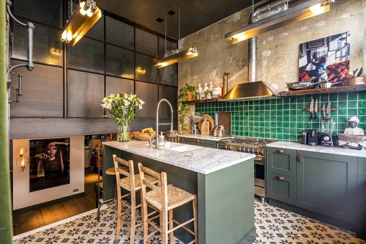 Kitchen cabinet colors - Planet Deco
