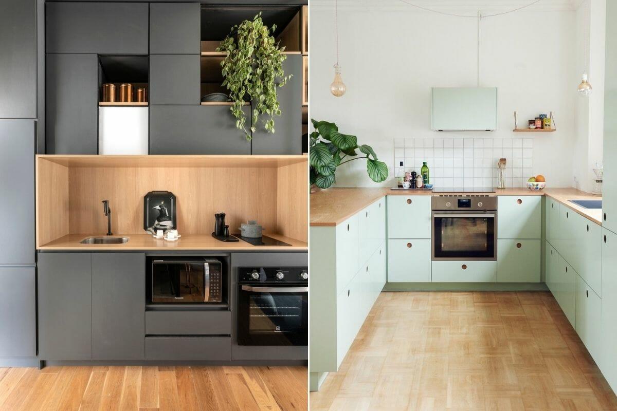 Matte kitchen cabinet color ideas