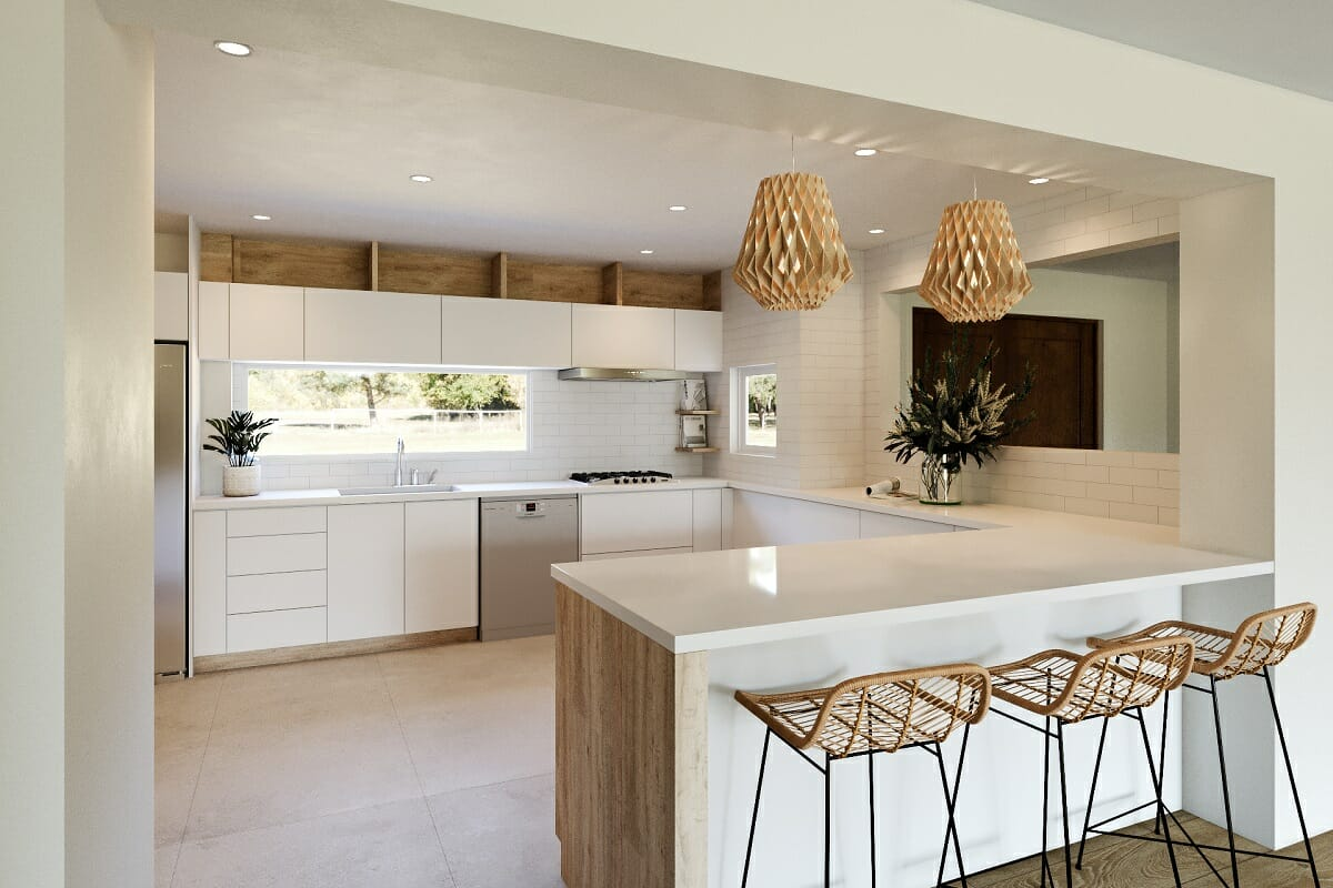 Neutral colors for kitchen cabinets - Wanda P