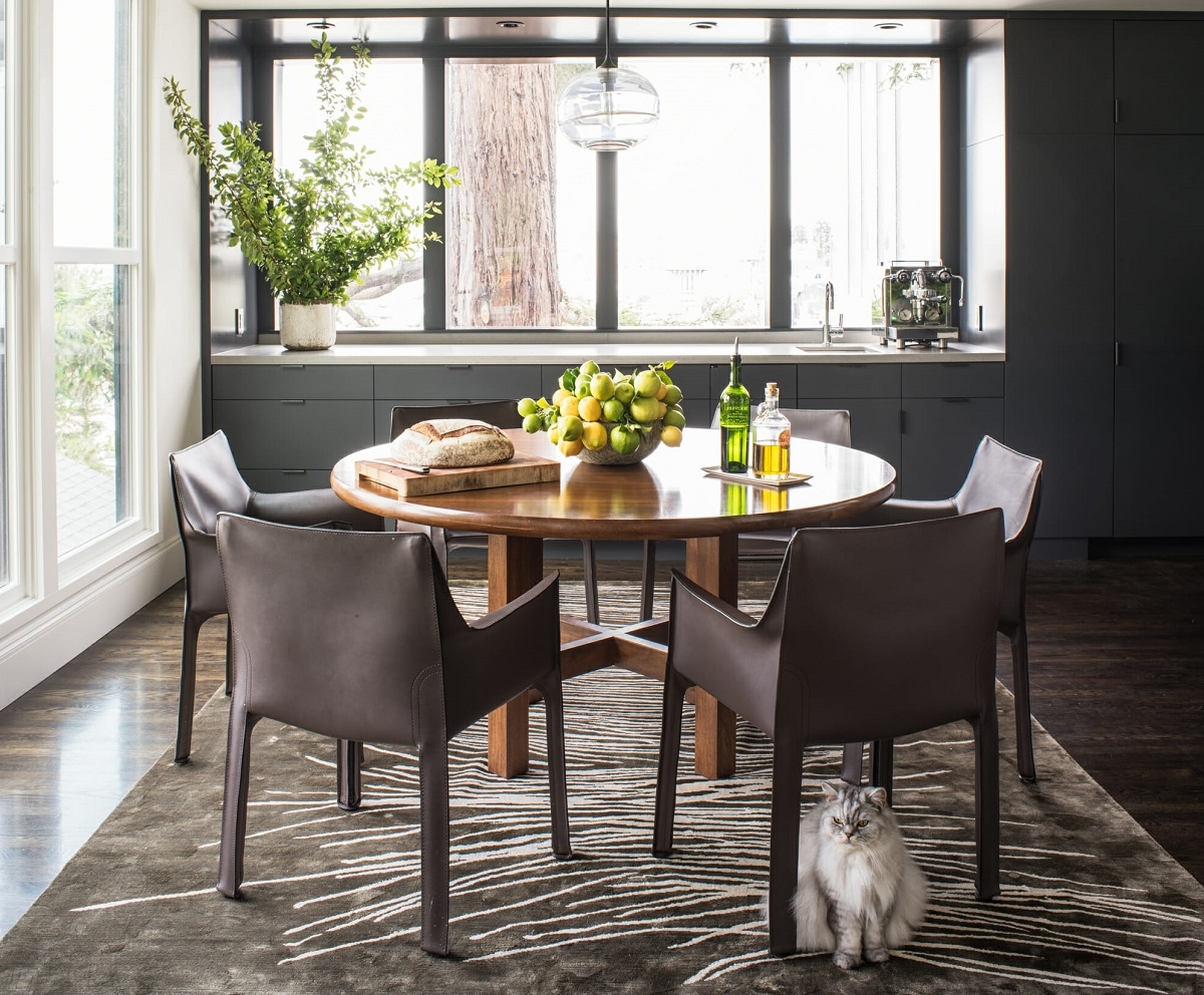 Plants in interior design for a dining room - Tiara M