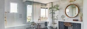 luxe bathroom as 2022 bathroom trends