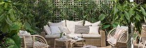 Backyard patio design - El Mueble