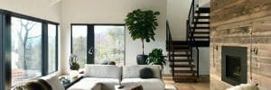 masculine interior design - Dichotomy