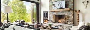 Modern cabin interior design ideas and decor